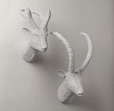 Детская мебель   Голова антилопы