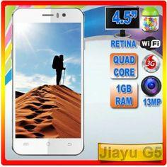 Jiayu G5  La última maravilla de la marca Jiayu Quad, Wifi, Quad Bike