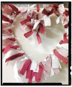 Valentines Rag Heart