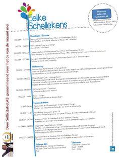 Cv van de maand mei 2014: Eelke Schellekens