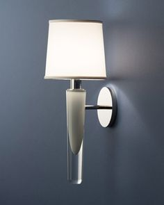 Another one of my favorite sconces from Boyd Lighting. This interior color comes in multiple options, from to blue. Such a beautiful piece. We just put one in our clients bathroom, gorgeous!