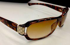 Gucci Sunglasses (Men's Pre-owned Designer Sun Glasses)