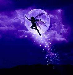 Moon Shower Purple