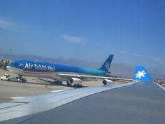 Air Tahiti Nui LAX encounter