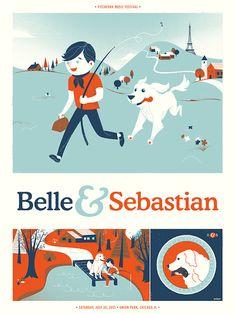 Belle & Sebastian by Delicious Design League
