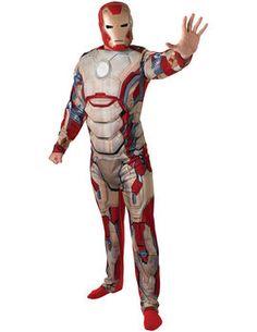 Costum Iron Man adulti  Cumpara acum/ Buy Now: http://fabricademagie.ro/Costum-Iron-Man-adulti.html