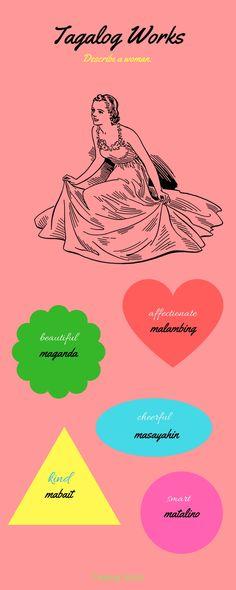 Tagalog Words, Filipino, Languages, Classroom Ideas, Pride, Sari, Asian, Learning, Idioms