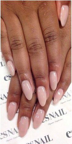all nail shapes - The most beautiful nail designs Chic Nails, Classy Nails, Stylish Nails, Trendy Nails, Classy Almond Nails, Pink Bling Nails, Simple Acrylic Nails, Almond Acrylic Nails, Pink Acrylic Nails