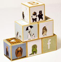 Animal Alphabet blocks