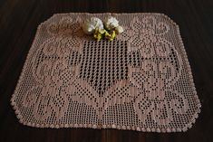 Creamy brown crochet doily, tablecloth, crochet home decor, mother's day gift Crochet Gifts, Crochet Doilies, Winter Holiday, Holiday Gifts, Creative Gifts, Creative Ideas, Umbrella Wedding, Great Gifts For Mom, Crochet Home Decor