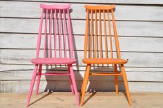 Beautiful Ercol chairs repainted by Home Barn