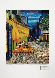 Faber-Castell: The Scream, Cafe Terrace At Night (4) colored pencils