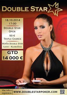 DoubleStar OPEN € 14,000 GTD 18.10. 2014 o 17:00 hod. Ilava - Klobušice 18th