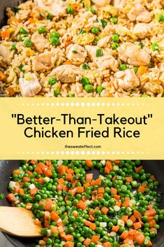 If you have never made chicken fried rice before, you will want to after seeing how easy and healthy this recipe is! Making Fried Rice, Supper Recipes, Gluten Free Chicken, Easy Food To Make, Macros, 34c, Fried Chicken, Pasta Salad, Meal Prep