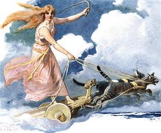 Freya - 1905 Wilhelm Ranisch Walhall: Die Götterwelt der Germanen Illustrated by Carl Emil Doepler ('the younger')