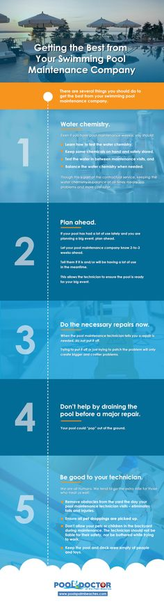 Getting the Best from Your Swimming Pool Maintenance Company – Home Maintenance Swimming Pool Maintenance, Drain Repair, You Are Awesome, Vape, Swimming Pools, Infographic, Good Things, How To Plan, Care Care
