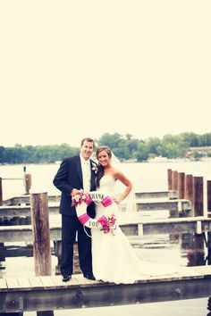 "Saying ""thank you"" in a creative way! Love it! #WeddingThankYous #MinneapolisWeddingPhotographers"