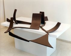 Sculpture Painting, Abstract Sculpture, Anthony Caro, Steel Paint, Installation Art, Sculptures, Bronze, Arts, Teaching Resources