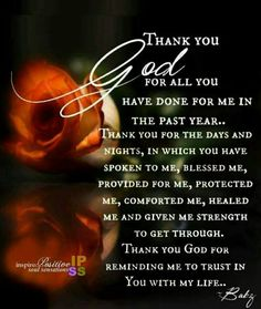 Thank you LORD GOD you know how rough 2017 was THANK YOU  For healing my horses liver and thank you for MY IMPROVEMENT With lung function AMEN AND AMEN