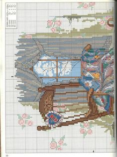 Rocking Chair and Quilt 2