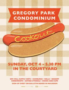 Cookout poster