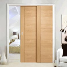 Configurations & Advice: Any mention of pre-finishing is to the door, the frame is supplied unfinished, all fittings such as track, track guides, guide channel, soft close Flush Doors, Pocket Doors, Sliding Doors, Contemporary Style, Space Saving, Tall Cabinet Storage, Channel, Track, Advice