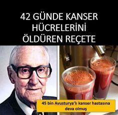 45 Günde #Kanser Hücrelerini Öldüren Reçete