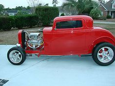 1932 Ford 3 window Lil Duece Coupe! Hot Rod! Street Rod!