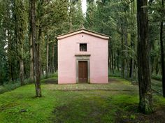 David Taylor St. Lawrence Chapel - Monte Oliveto Abbey, Tuscany, 2010