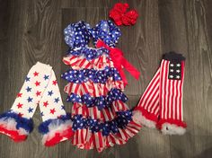 It's never too early to prepare outfits for your little ones for the 4th of July! Belly Love has this and so much more!