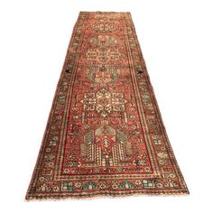 "Image of Vintage Persian Karajeh Runner - 3'2"" x 12'8"""