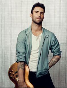 Adam Levine. Yum