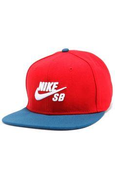 420139a1 NIKE SB ICON SNAPBACK, nike cap, nike, nike red, nike snapback,