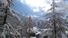 snow paradise Saas Fee, Mount Everest, Paradise, Snow, Mountains, Nature, Travel, Winter Landscape, Naturaleza