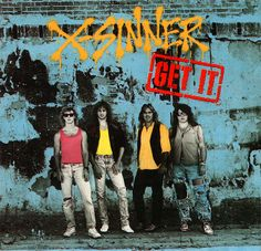 X-Sinner Get it CD 1989 Pakaderm Christian Metal John Elephante Mastedon #Christian