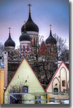 Alexander Nevsky Cathedral, Tallinn, Estonia. My future brother in law (read: sister's new boyfriend) is from Estonia. Definitely would love to visit!