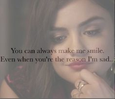 aria montgomery, boyfriend, cute, ezra fitz, ezria, love, pretty little liars, s​mile