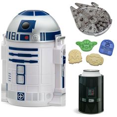 'Star Wars' R2-D2 Bento Box And Millennium Falcon Serving Tray