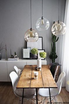 Dining tables for every style of living Which dining tables to match your interior design style . - home-dekor - Home Sweet Home Interior Design Living Room, Living Room Decor, Ikea Interior, Interior Ideas, Sweet Home, Living Styles, Dining Room Design, Home And Living, Small Living