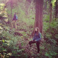 LUNA explorers getting super serious about mushroom foraging  #LUNAlife