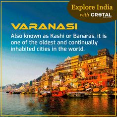 Explore #Varanasi, the holiest of Hindu cities where life and death come together in striking contrast! Varanasi, City Lights, Cities, Contrast, Old Things, Death, India, Explore, Reading