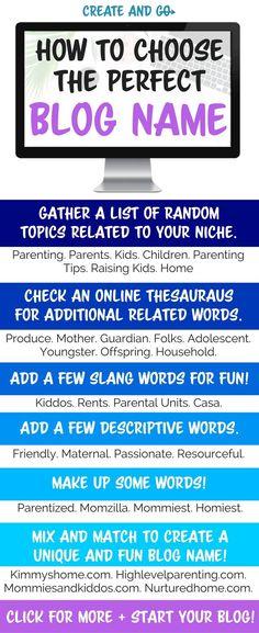 random blog topics