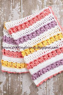 Crochet Hugs Amp Kisses Baby Blanket Tutorial Free