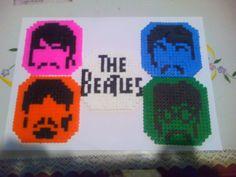 Posavasos The Beatles. Hama beads Midi.