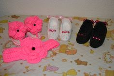 High heel booties by BellasBabyTreasures on Etsy, $20.00