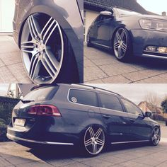 Vw pasat variant Accuair suspension e level Amg wheels Lowmotion Vw Wagon, Passat 3c, Passat Variant, Golf Estate, Car Wheels, Station Wagon, Car Pictures, Cars And Motorcycles, Super Cars