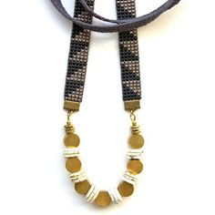 Warrior Necklace by by On The lookout Uncovet