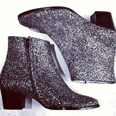 Glitter boots!