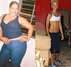 Fat Loss Motivation 4 - The Most Amazing Female Weight Loss Transformations [30 Pics]!