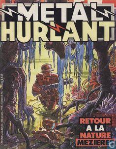 Bandes dessinées - Mezieres -Metal Hurlant 41